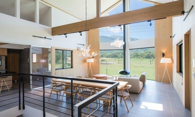 The Orchards Niseko Take Living Area | St Moritz, Niseko | Ministry of Chalets