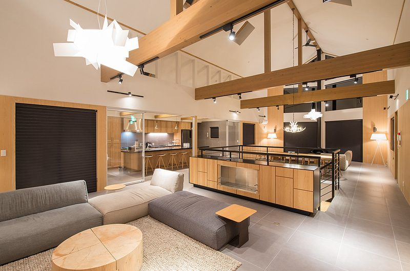The Orchards Niseko Take Living and Kitchen Area | St Moritz, Niseko | Ministry of Chalets