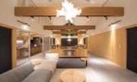 The Orchards Niseko Take Indoor Living Area | St Moritz, Niseko | Ministry of Chalets