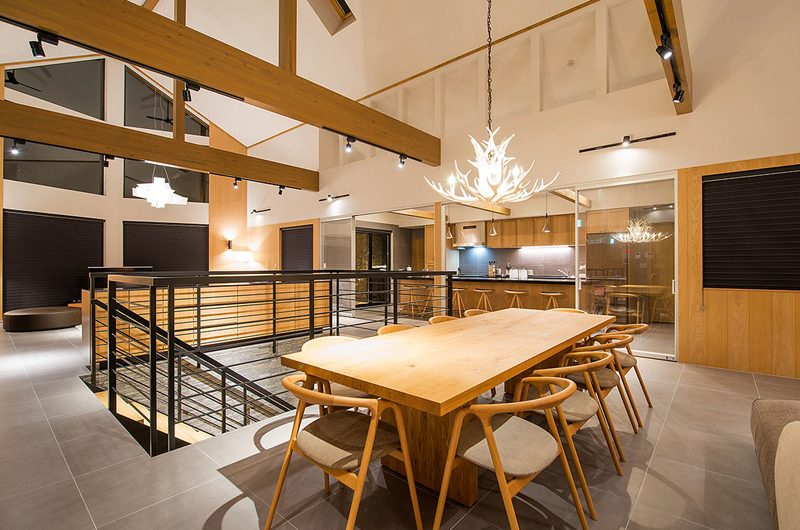 The Orchards Niseko Take Kitchen and Dining Area | St Moritz, Niseko | Ministry of Chalets