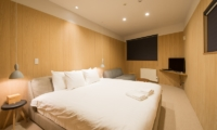 The Orchards Niseko Take Bedroom with TV | St Moritz, Niseko | Ministry of Chalets