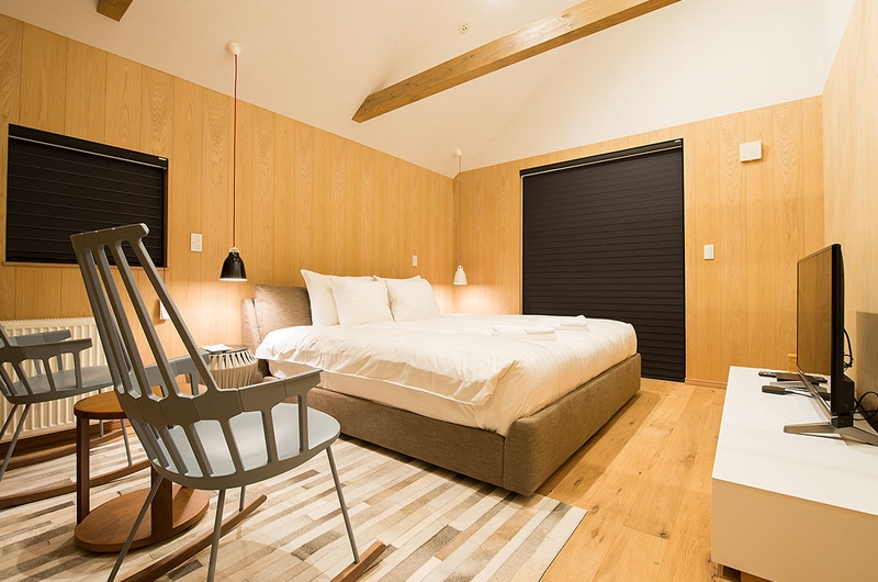 The Orchards Niseko Take King Size Bed | St Moritz, Niseko | Ministry of Chalets