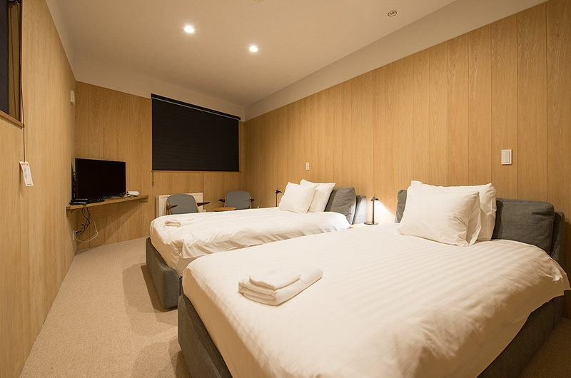 The Orchards Niseko Take Twin Bedroom View | St Moritz, Niseko | Ministry of Chalets