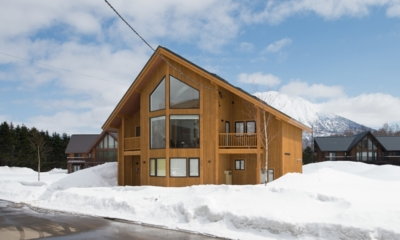 The Orchards Niseko Zakuro Outdoor View | St Moritz, Niseko | Ministry of Chalets