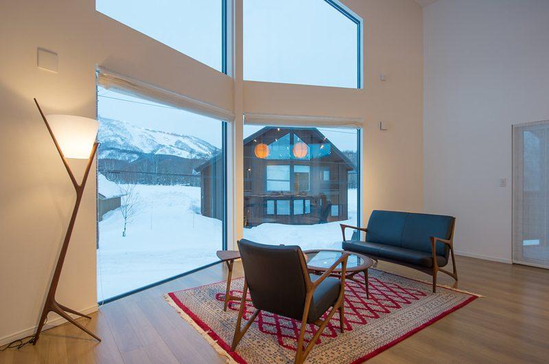The Orchards Niseko Zakuro Indoor Living Area | St Moritz, Niseko | Ministry of Chalets