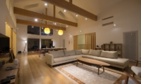 The Orchards Niseko Zakuro Indoor Living and Dining Area | St Moritz, Niseko | Ministry of Chalets