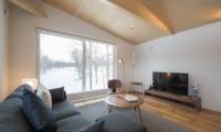 Yorokobi Lodge Living Area | Hirafu, Niseko | Ministry of Chalets