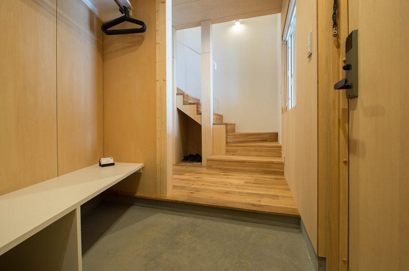 Yorokobi Lodge Entrance | Hirafu, Niseko | Ministry of Chalets