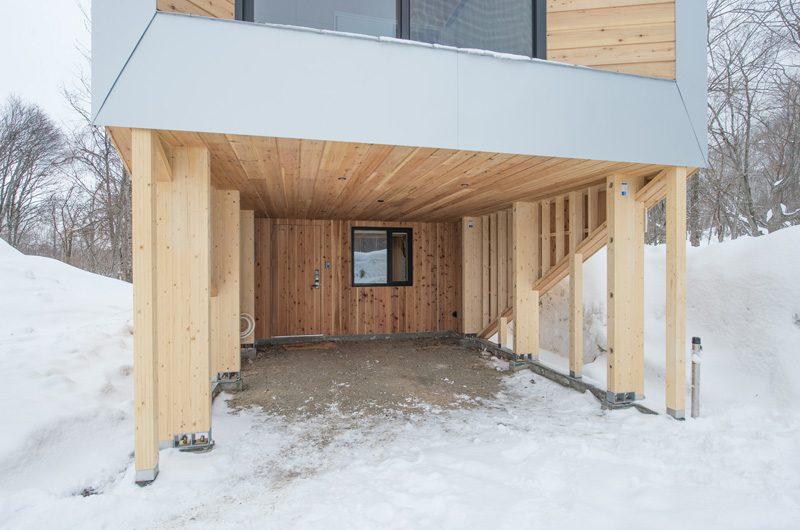 Yorokobi Lodge Parking | Hirafu, Niseko | Ministry of Chalets