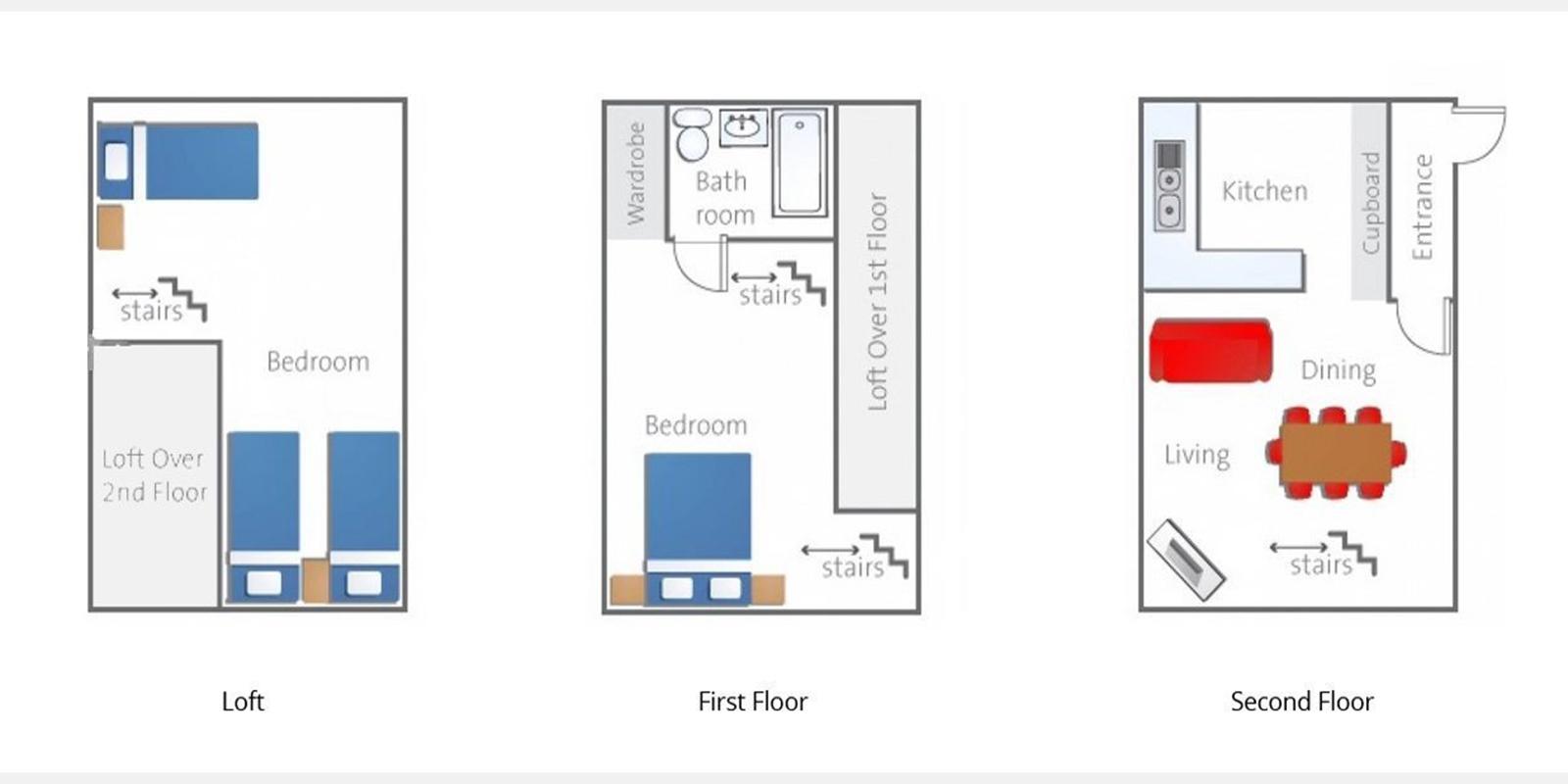 Yotei Cottage Floor Plan | Hirafu, Niseko | Ministry of Chalets