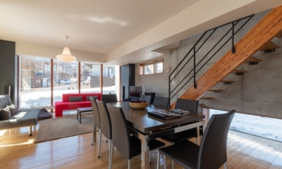 Yuki Ten Living and Dining Area | Hirafu, Niseko | Ministry of Chalets