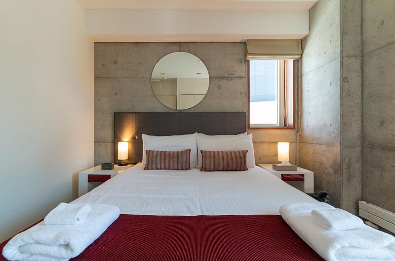 Yuki Ten Bedroom with Lamps | Hirafu, Niseko | Ministry of Chalets
