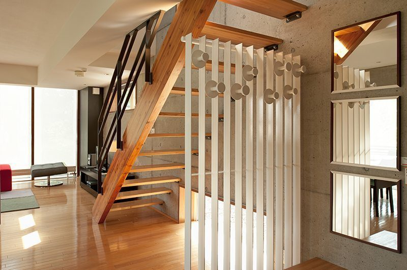 Yuki Uchi Staircase | Hirafu, Niseko | Ministry of Chalets