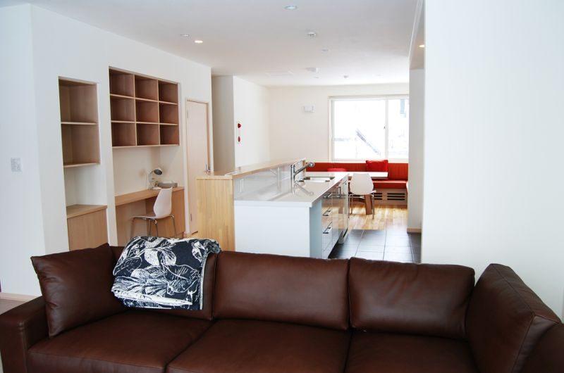 Yutaka Townhouses Living Room | Middle Hirafu Village, Niseko | Ministry of Chalets