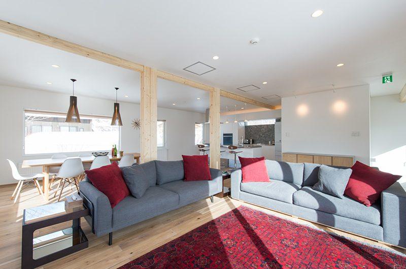 Yuzuki Living Room   Hirafu, Niseko   Ministry of Chalets