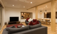 Yuzuki Living and Dining Area | Hirafu, Niseko | Ministry of Chalets