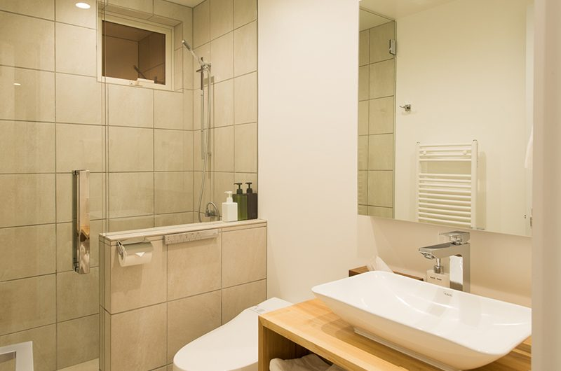 Yuzuki Bathroom with Shower | Hirafu, Niseko | Ministry of Chalets