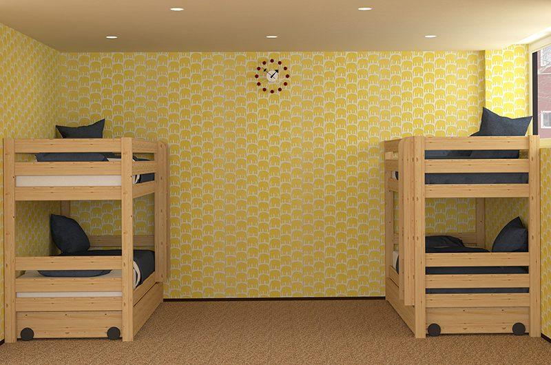Kitsune House Bunk Beds | Hirafu, Niseko | Ministry of Chalets