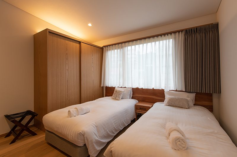 Soseki Twin Bedroom | Hirafu, Niseko | Ministry of Chalets