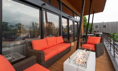 Soseki Open Plan Seating | Hirafu, Niseko | Ministry of Chalets