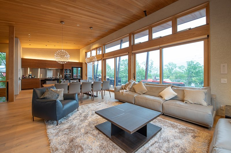 Soseki Living Area | Hirafu, Niseko | Ministry of Chalets