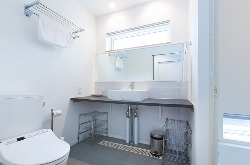 Ajisai Bathroom | Hirafu, Niseko | Ministry of Chalets