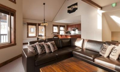 Ishi Couloir B Living Area | Hirafu, Niseko | Ministry of Chalets