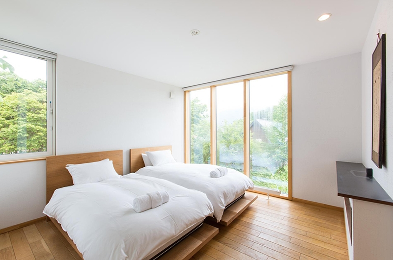 Sekka Ni Sekka Ni 3 Twin Bedroom | Hirafu, Niseko | Ministry of Chalets
